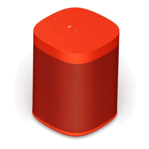 Sonos One Sonderedition HAY in Vibrant Red