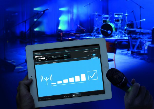Monitoring APP für Sennheiser Evolution Wireless D1