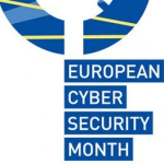 Logo: European Cyber Security Month
