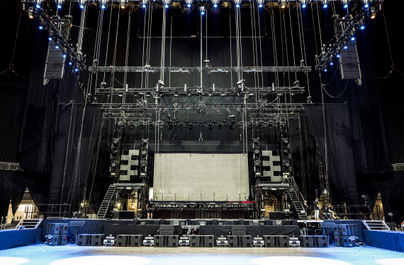 K-Array Lautsprechersystem in der O2 Arena London