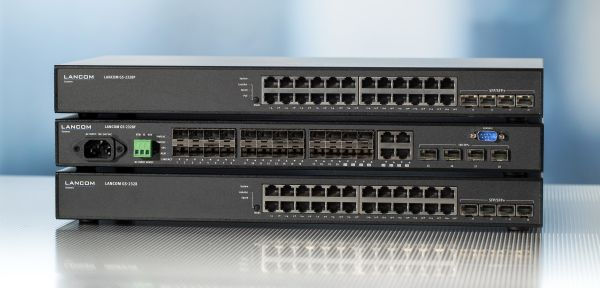 LANCOM Gigabit Ethernet Switches der GS-23-Serie (8 bis 24 Ports)