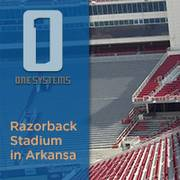 Donald Reynold Razorback Stadium der University of Arkansas